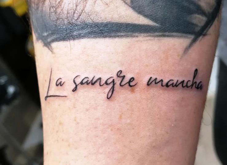 Tatto lettering